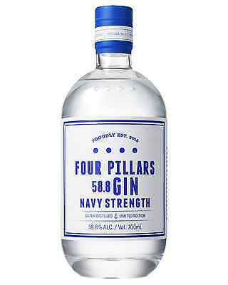 Four Pillars Navy Strength Gin 700mL bottle
