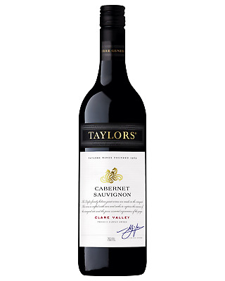 Taylors Cabernet Sauvignon 2009 case of 6 Dry Red Wine 750mL Clare Valley