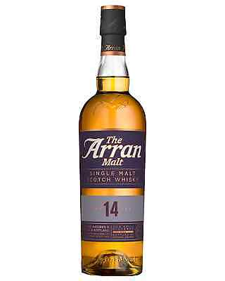 The Arran case of 6 Scotch Whisky Single Malt 700mL