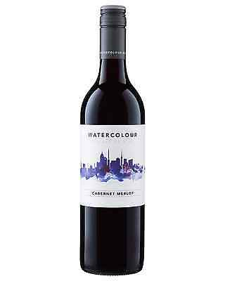Watercolour Cabernet Merlot case of 6 Dry Red Wine 750mL