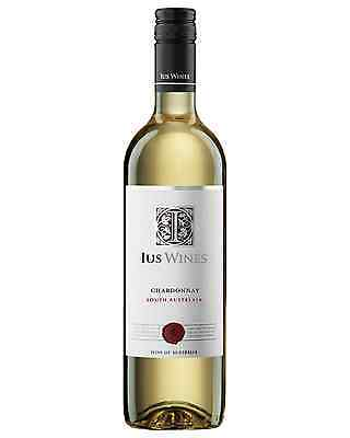 IUS Wines Chardonnay case of 12 Dry White Wine 750mL