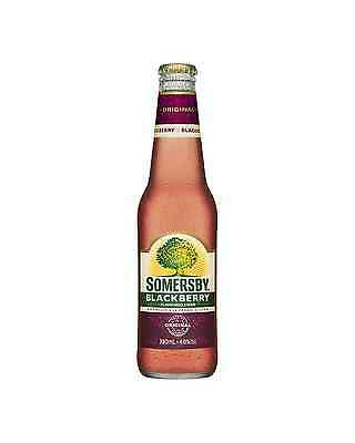 Somersby Blackberry Cider 330mL case of 24 Fruit Flavoured Cider