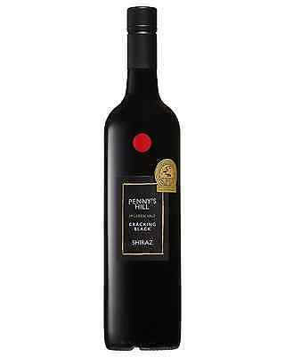 Penny's Hill Cracking Black Shiraz case of 6 Dry Red Wine 750mL McLaren Vale