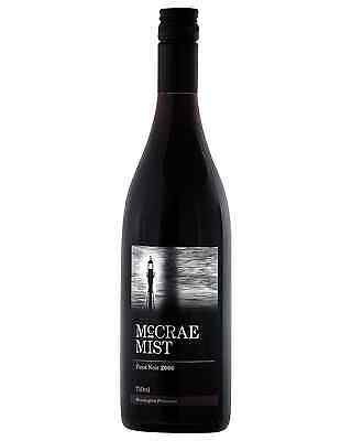 McCrae Mist Pinot Noir bottle Dry Red Wine 750mL Mornington Peninsula