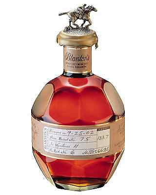 Blanton's Straight From The Barrel Bourbon 700mL case of 6 American Whiskey