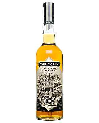 The Cally 40 Year Old Single Grain Scotch Whisky 700mL bottle