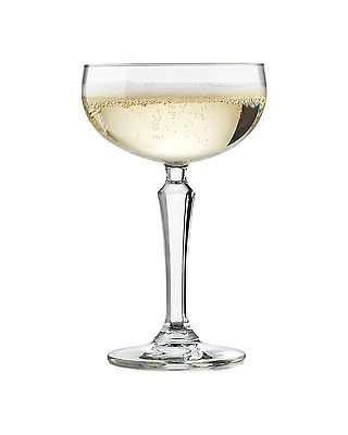Libbey Vintage Coupe 4 Pack Bar Accessories Sparkling Wine 214mL
