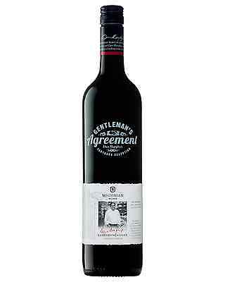 Gentlemans Agreement Neil McGuigan Cabernet Shiraz case of 6 Dry Red Wine 750mL