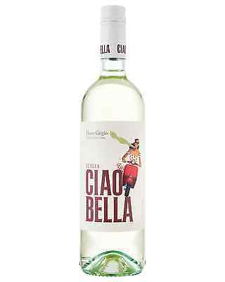 Ciao Bella Pinot Grigio case of 6 Dry White Wine 750mL