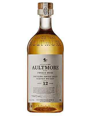 Aultmore 12 Year Old Single Malt Scotch Whisky 700mL bottle Speyside