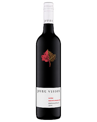Pure Vision Shiraz bottle Dry Red Wine 750mL Adelaide
