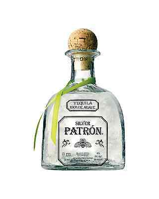 Patrón Silver Tequila 50mL bottle Blanco