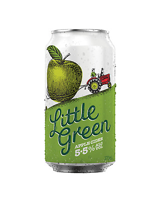 Little Green Apple Cider Cans 375mL case of 24