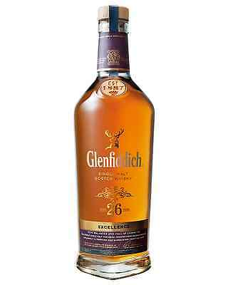 Glenfiddich Excellence 26 Year Old Scotch Whisky 700mL bottle Single Malt