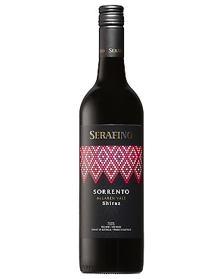 Serafino Sorrento Shiraz bottle Dry Red Wine 750mL McLaren Vale