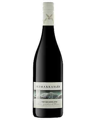 The Remarkables Pinot Noir case of 6 Dry Red Wine 750mL Central Otago