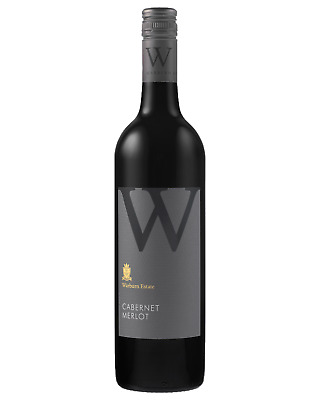 Warburn Premium Reserve Cabernet Merlot case of 6 Dry Red Wine 750mL