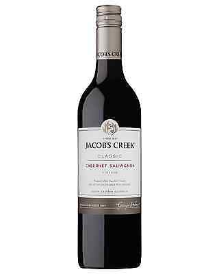 Jacob's Creek Classic Cabernet Sauvignon case of 6 Dry Red Wine 750mL