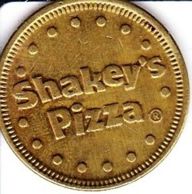 Shakey's Pizza Arcade Token #1 large