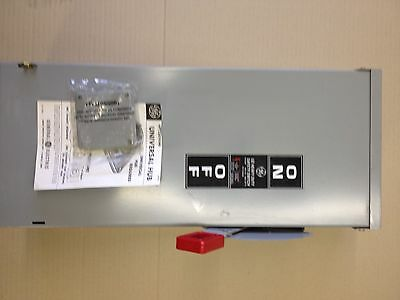 GE 100 amp 600 vac fuseable 3 phase weatherproof disconnect/ FREE shipping