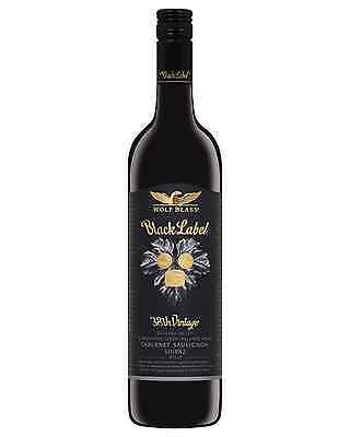 Wolf Blass Black Label Cabernet Sauvignon Shiraz 2010 bottle Dry Red Wine 750mL