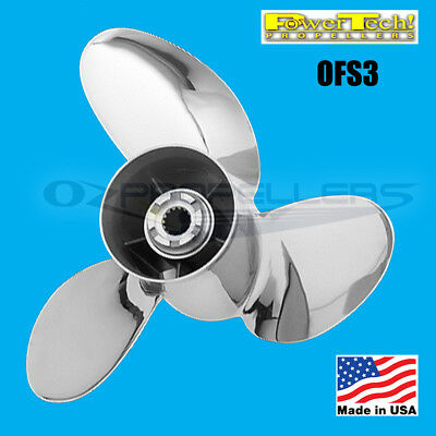 YAMAHA  POWER TECH  STAINLESS  OFS3 PROP PROPELLER  SUITS V6 150-300HP 15 Pitch