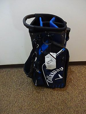 New w/ Tag Callaway Blue/White Stand Bag