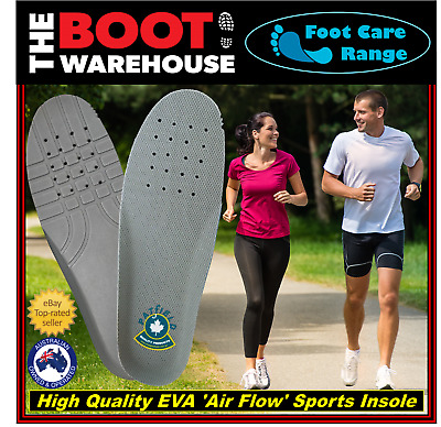 Insoles Innersoles Footbeds Pads Comfort Support - EVA 'AIR FLOW' SPORTS INSOLE