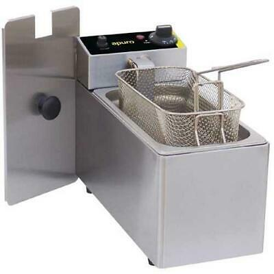 Apuro Benchtop Electric Fryer, Single 3L, Commercial Kitchen Equipment