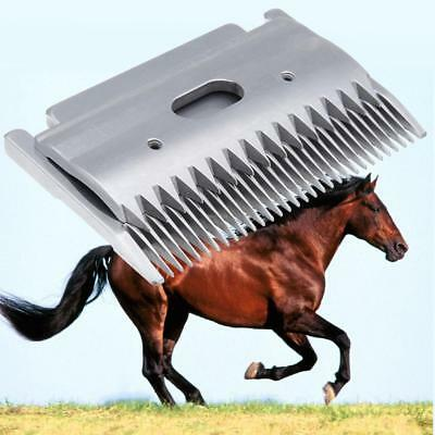 High Strength Stainless Steel Straight Blade For Goat Shearing Sheep Clipper