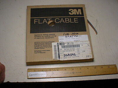 3M flat cable #8311/10 10 conductor 26 awg