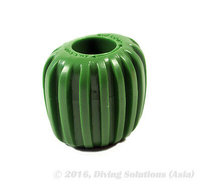 Scuba Diving Dive Tank Cylinder Valve Knob -Oval Design for Better Grip, Green