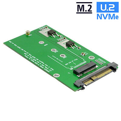 SFF-8639 NVME U.2 to NGFF M.2 M-key PCIe Adapter for Mainboard Replace Intel SSD