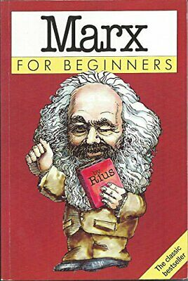 Marx for Beginners by Rius Paperback Book The Cheap Fast Free Post
