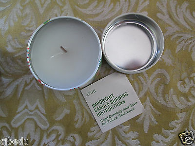 Avon*sented Tin Candle: Winter Wonderland With Vanilla Amaretto Fragrrance*new