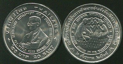 """THAILAND 20 BAHT /""""INFORMATION TECHNOLOGY YEAR/"""" IT 1995 COIN UNC"""