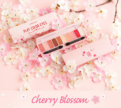 ETUDE HOUSE - PLAY COLOR EYES CHERRY BLOSSOM (Eyeshadow Palette - KOREA Genuine)