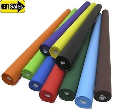 Poster Display Paper Rolls 10m Length (76cm Width) Choose from 20 Colours School