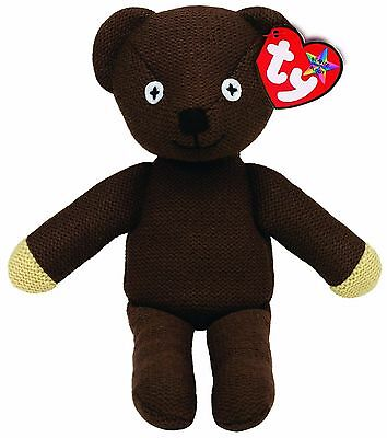Ty Beanie Mr Bean Teddy  Buddy Size Soft Toy Approx 15Inch New Gift 96310