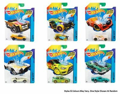 Hot Wheels Die-Cast Changing Colour Shifters Car Vehicle Assorted
