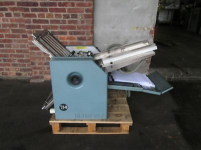 Baum Folder Air Feed Folder 714  14X20 Very Clean