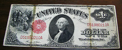 1917 $1 One Dollar Large Size Legal Tender Note United States Note --- E