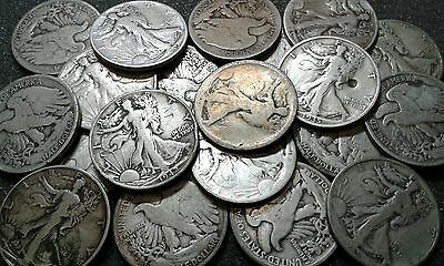 Walking Liberty Half Dollar Silver Coin(s) Free Ship
