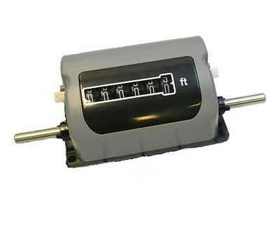 Trumeter 3602-041TC Top Coming Measuring Counter. Measures in Feet Only