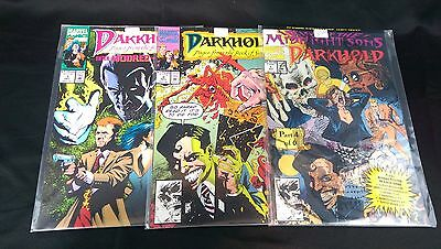 1992 Marvel Comics Darkhold Pages From The Book Of Sins - Issues #1, 2, 3