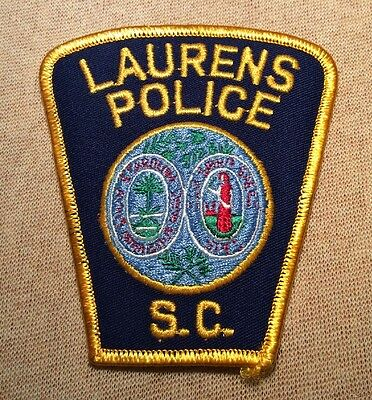 SC Laurens South Carolina Police Patch