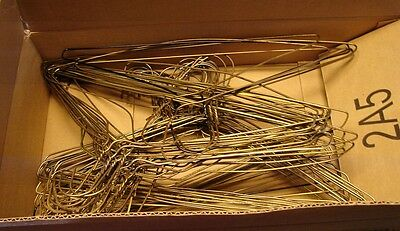 "Wire Clothes Hangers Lot/50 Vintage Assorted 16"" Some 17 1/2"""