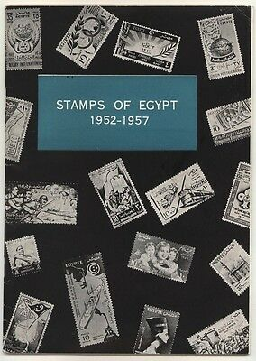 STAMPS of EGYPT 1952-1957, scarce catalogue 1957