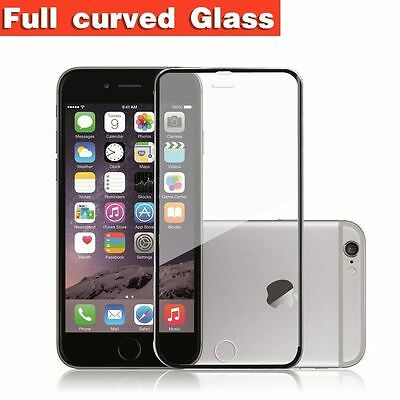 `Full Coverage 3D Curved Tempered Glass Screen Protector for Iphone 6 6S Plus