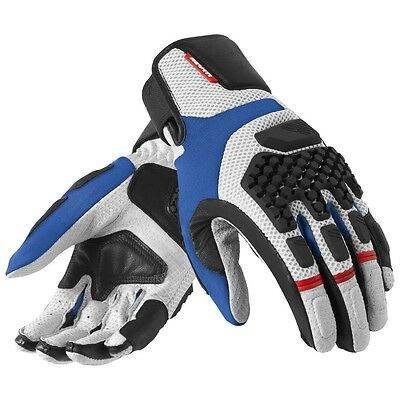 REV'IT! Sand Pro Gloves Silver/Blue Size M